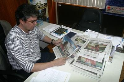 Campanha do destino Sergipe estampa páginas em jornais e revistas especializadas