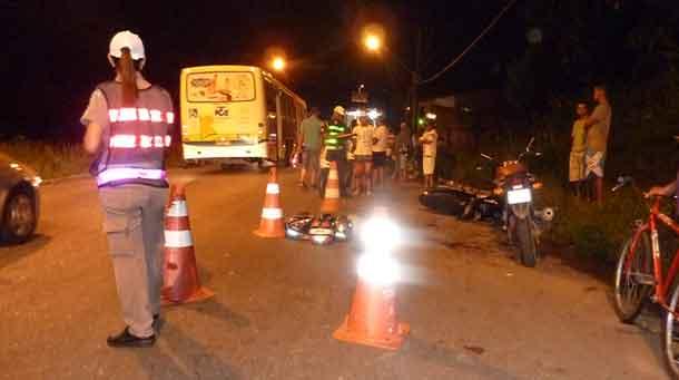 Shineray causa acidente grave na zona norte de Aracaju