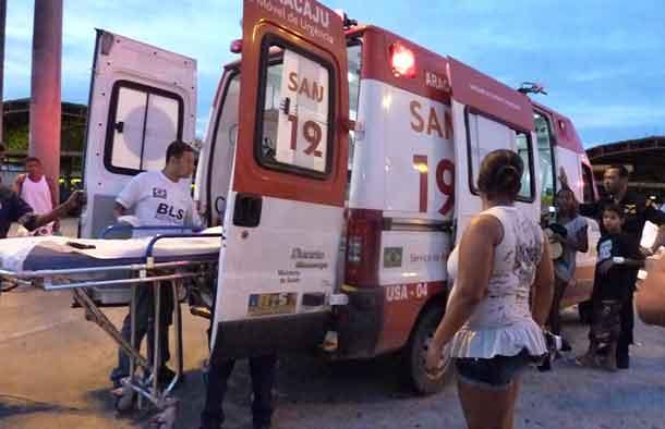 Três pessoas são baleadas em tentativas de homicídio em área do mercado