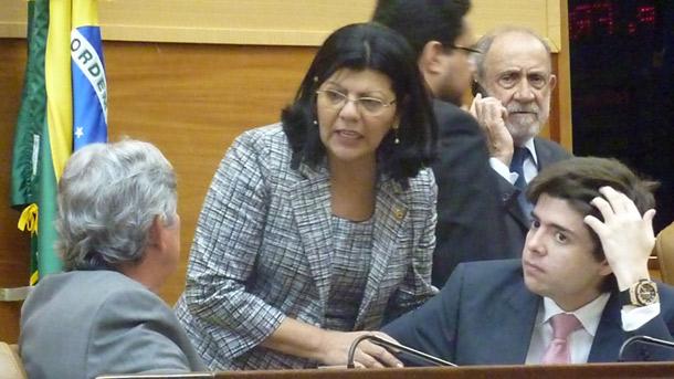 Clima tenso na Assembléia Legislativa de Sergipe
