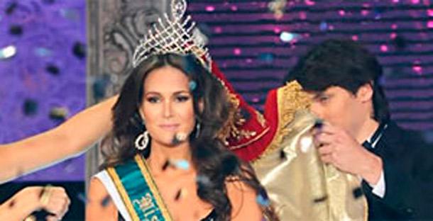 Miss Brasil fica gravemente ferida em acidente