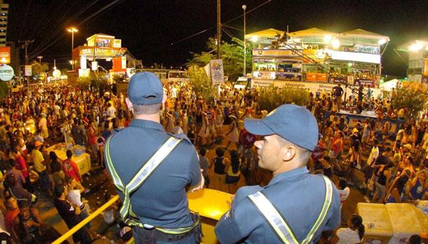 Cerca de 1000 militares farão a segurança nos quatro dias do Pré-Caju