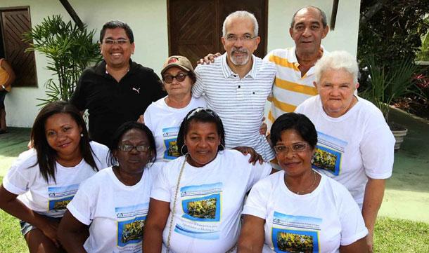 Prefeito de Aracaju oferece almoço entre os líderes comunitários