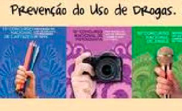 Concurso nacional contra as drogas encerra inscrições dia  27 de abril