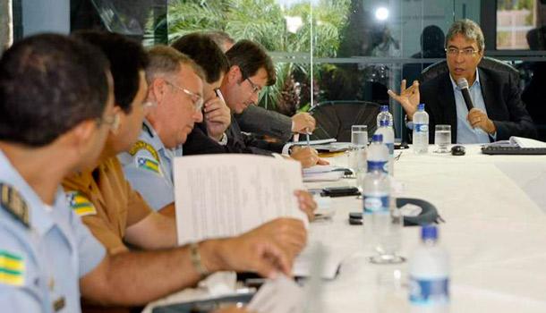 Governador discute leis orgânicas e estrutura das polícias de Sergipe
