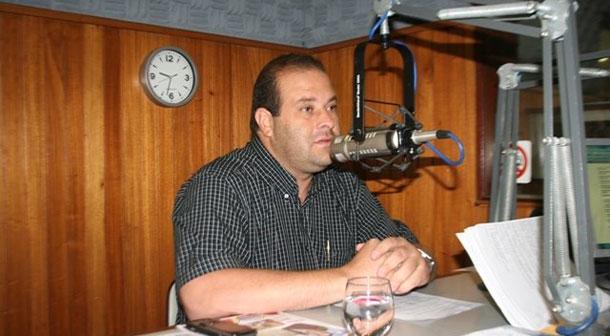 Radialista fala em 'herança maldita'no rádio