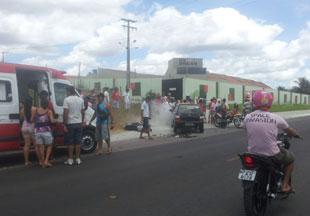 Homens são arremessados em acidente grave no interior de Sergipe