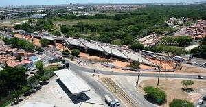 Obras do Viaduto do Detran segue cronograma