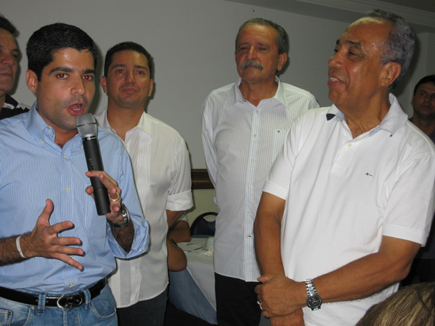 AGENDA! … Prefeito de Aracaju se reúne em Salvador com ACM  Neto e outras autoridades
