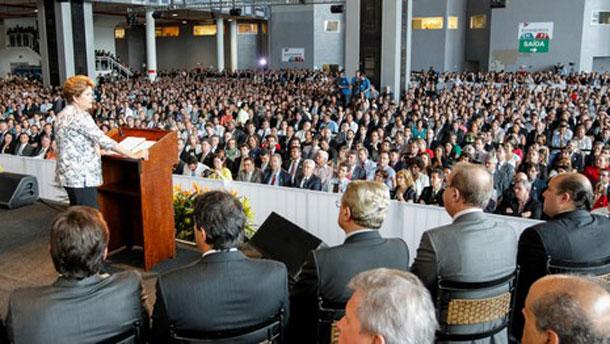 Presidente da FAMES diz que esperava mais da presidente Dilma