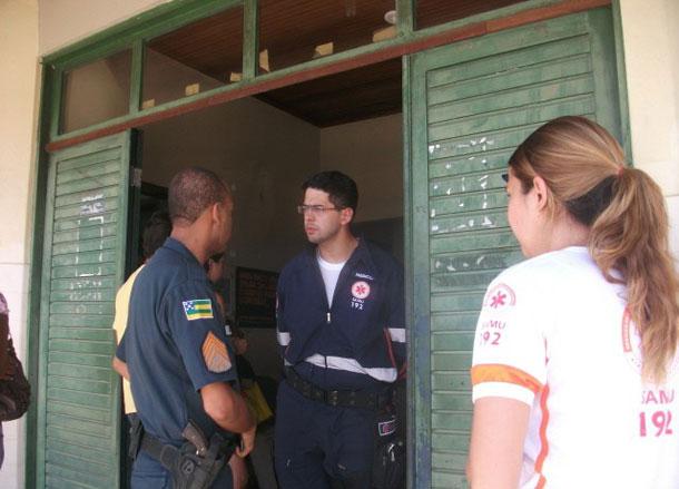 Médico do SAMU-SE faz B.O. e pede apoio policial