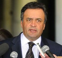 Polícia Federal faz s de busca e apreensão no gabinete do senador Aécio Neves