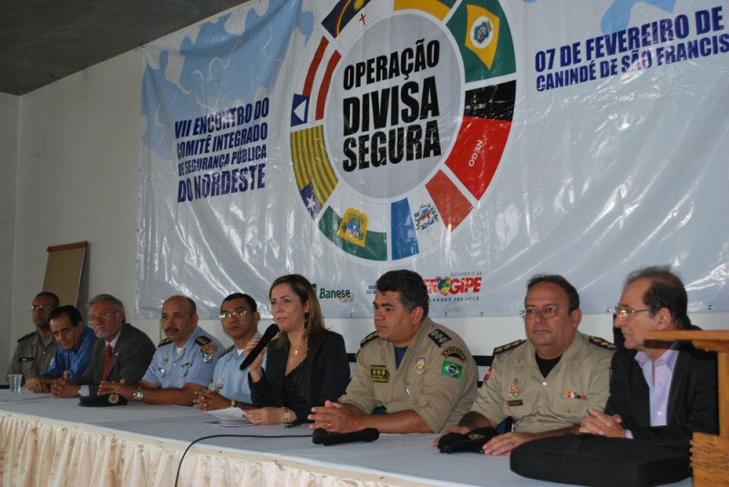 Aracaju vai sediar encontro Integrado de Segurança Pública do Nordeste