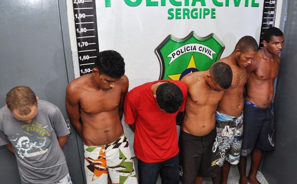 Policia de Sergipe desarticula quadrilha que comandava trafico , roubos e homicídio