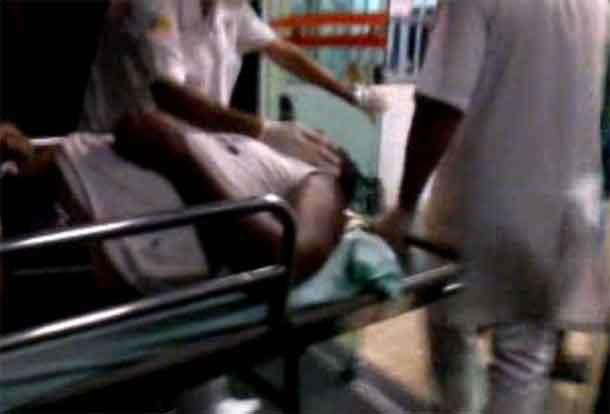 Subtenente da PM consegue escapar de bandidos, mas quase morre no hospital.