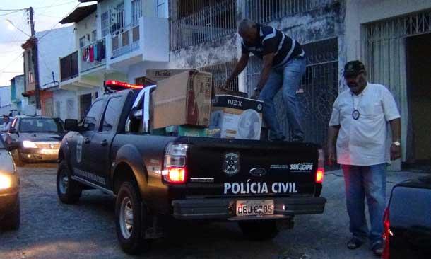 Operação policial prende comerciante que comprava produtos furtados e duvidosos para revender