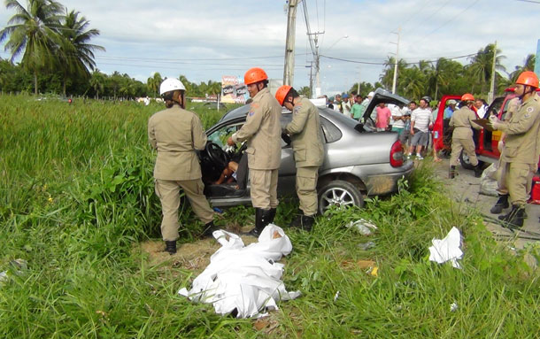 Acidente grave mata duas pessoas na Rodovia dos Náufragos em Aracaju