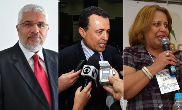Governador efetiva Silvio Santos, Pedro Lopes e Joélia Santos