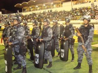 Definido esquema de segurança para jogo do Sergipe
