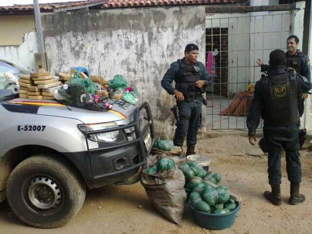 Polícia de Sergipe prende traficantes com mais 110 kg de drogas no Pantanal