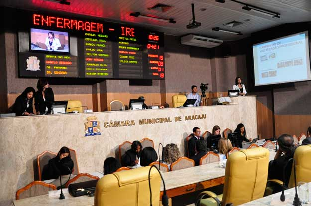 Vereadores de Aracaju podem antecipar à eleição da mesa diretora