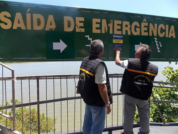 Estruturas para o Pré Caju 2014 são fiscalizadas