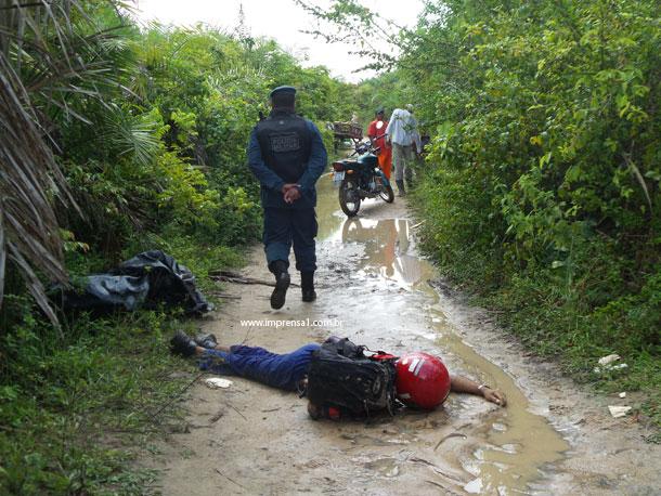 Pedreiro é executado a tiros em zona rural de Sergipe