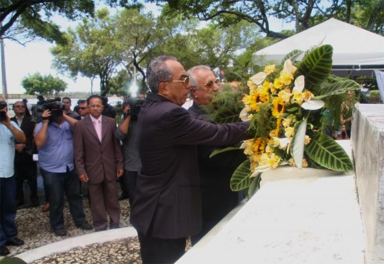 Prefeito participa de homenagem a Inácio Barbosa