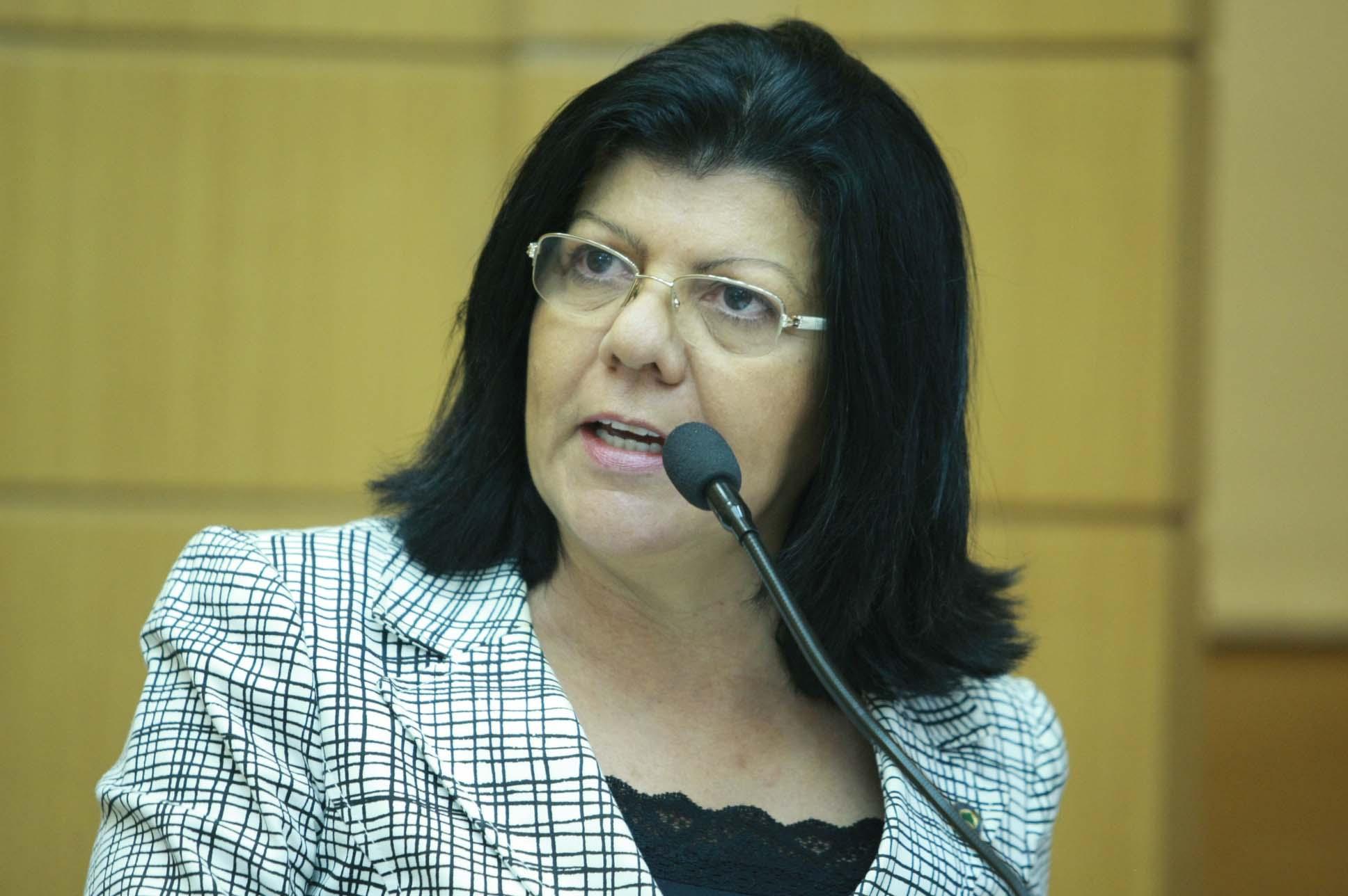 Angélica Guimarães tranquiliza servidores públicos