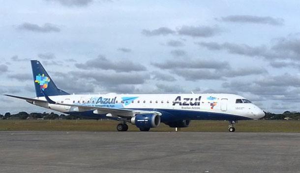 """Piloto da """"Azul  Linhas Aéreas"""" evita tragédia no Aeroporto de Aracaju ( VEJA O VÍDEO)"""