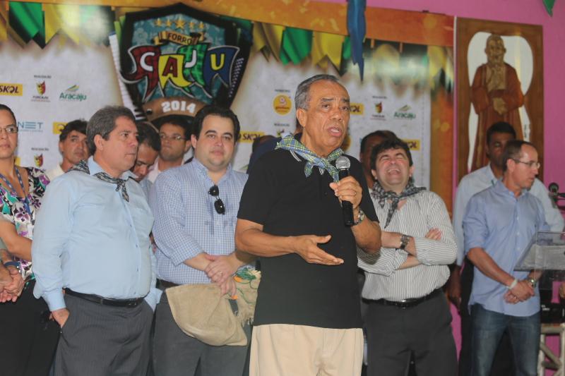 Vereadores elogiam programação do Forró Caju
