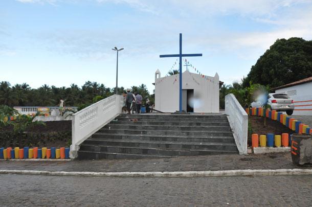 Prefeitura de Pirambu  entrega Praça e valoriza a cultura religiosa