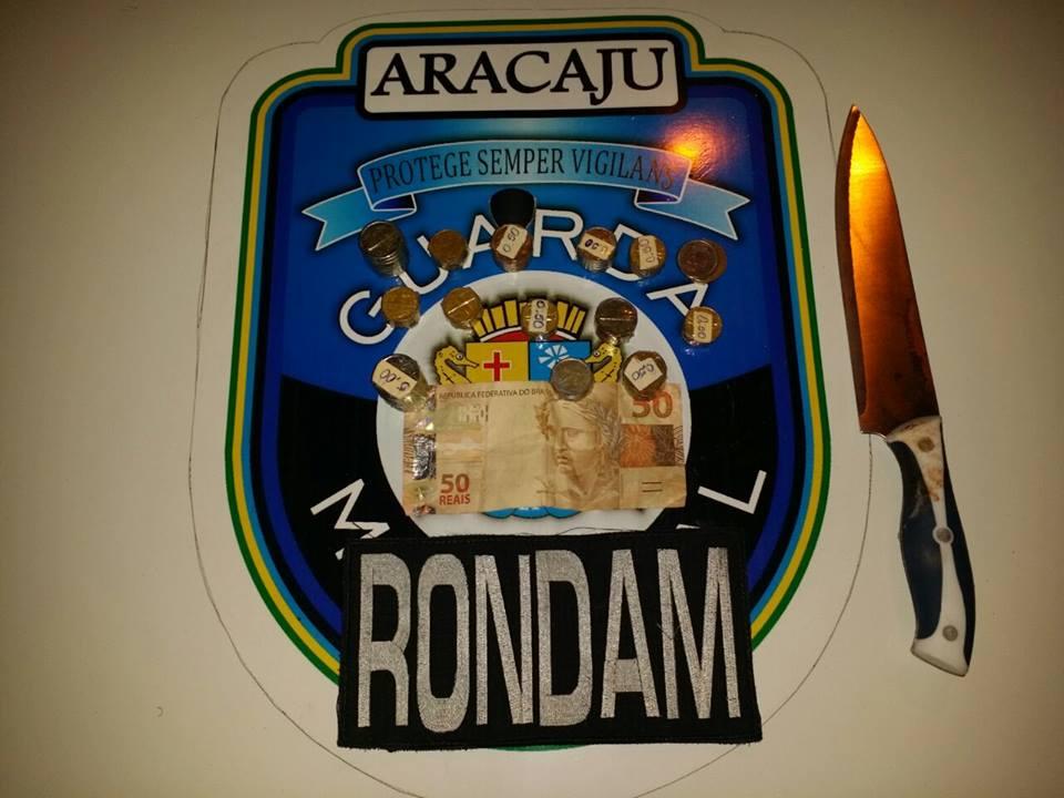 Guarda Municipal prende homem após assalto e tentativa de homicídio