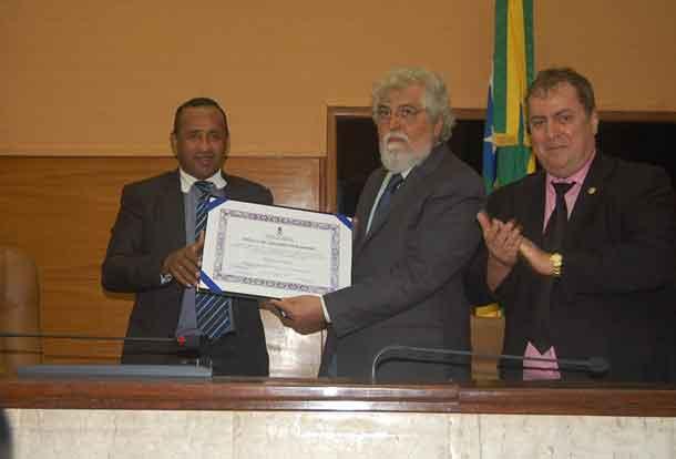 Cineasta Hermano Penna recebe titulo de cidadão sergipano