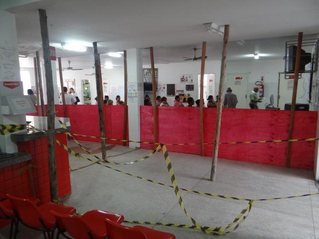 Unidade de Saúde do Bairro Santos Dumont suspende atendimentos devido reforma