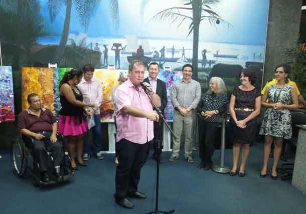 Presidente Zé Franco abre Espaço Cultural de setembro da Assembleia Legislativa