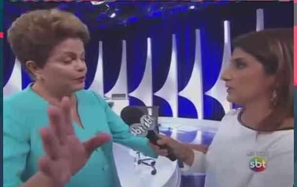 Presidenta Dilma se atrapalha e diz que passou mal (VEJA VIDEO)