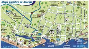 Prefeitura de Aracaju facilita a vida do turista com distribuição de mapas