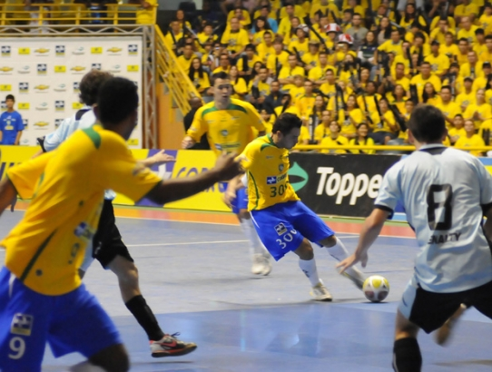 Aracaju será sede do Campeonato Sul-Americano de Futsal  neste mês de novembro