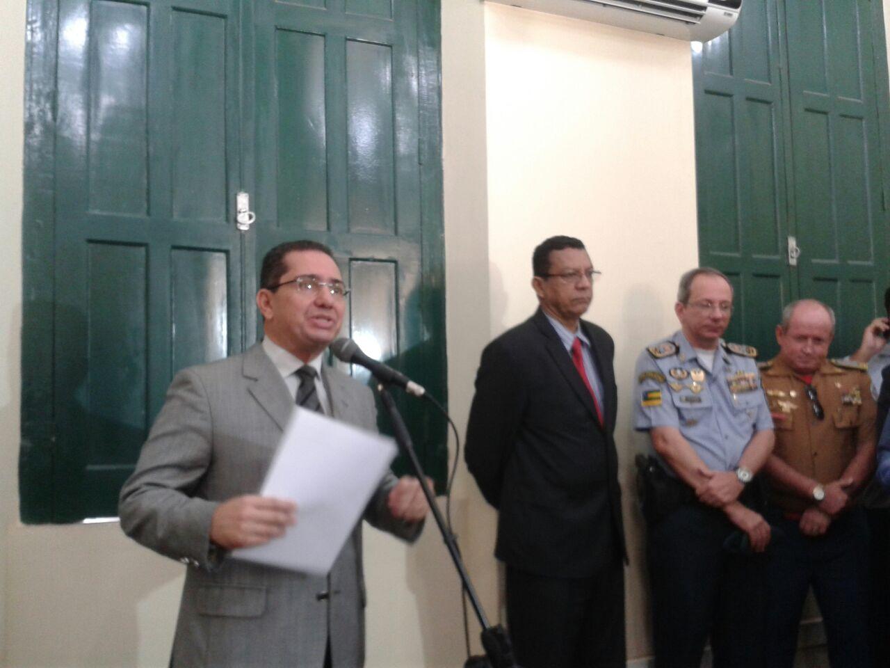 Secretário Mendonça Prado anuncia seus auxiliares da SSP de Sergipe