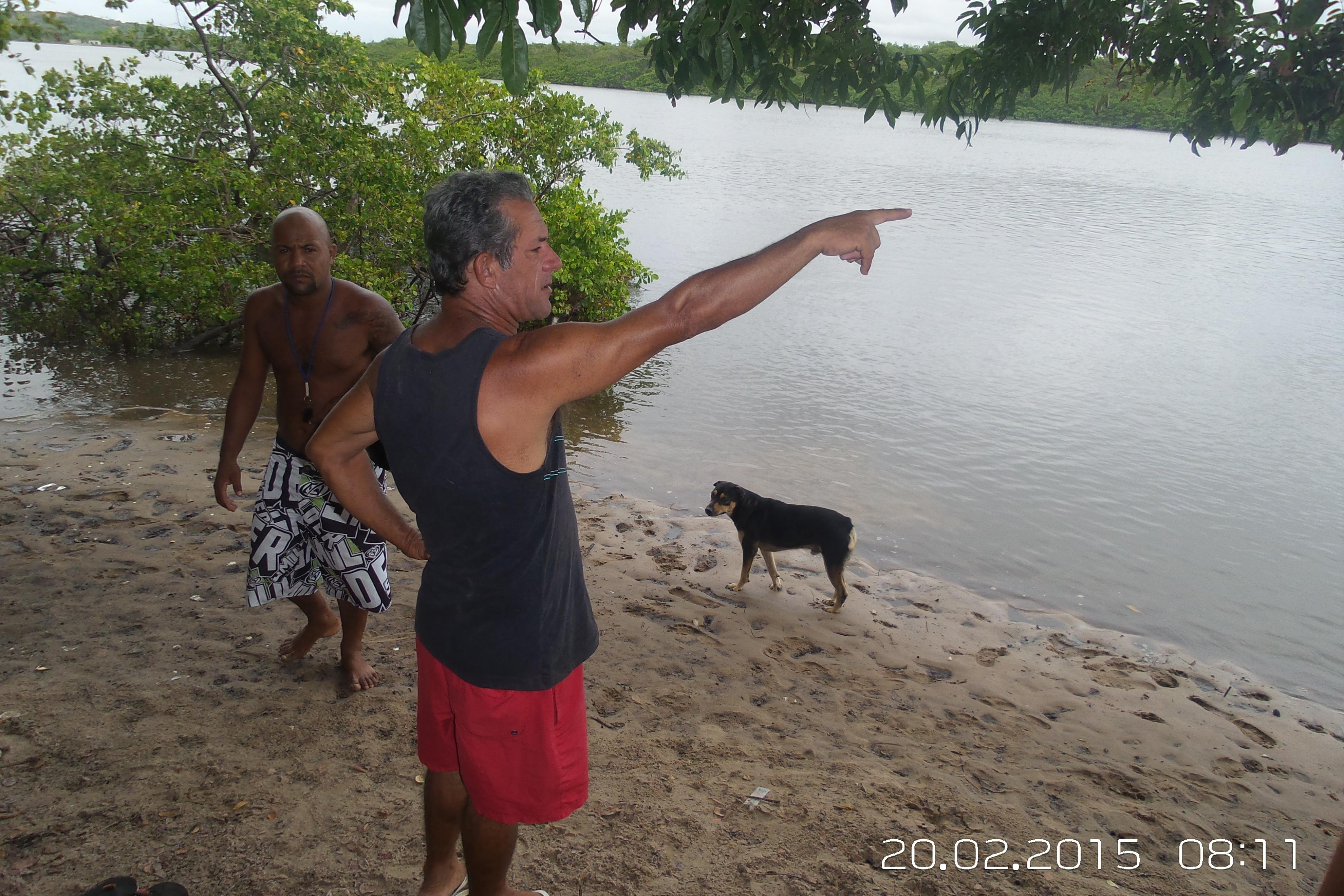 Corpo de banhista é encontrado pelos Bombeiros de Sergipe