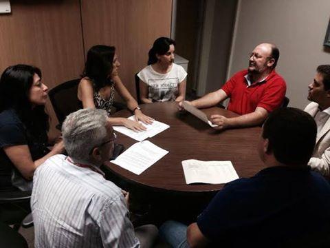 Servidores do MPU buscam apoio do deputado João Daniel para a mobilização nacional