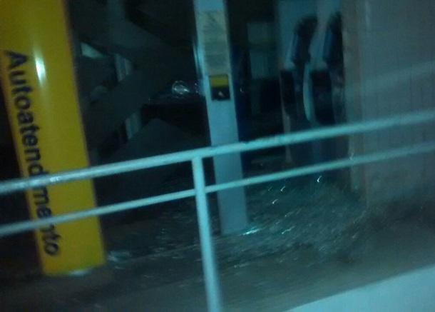 Bandidos usam maçarico para arrombar cofre do Banco do Brasil no interior de Sergipe