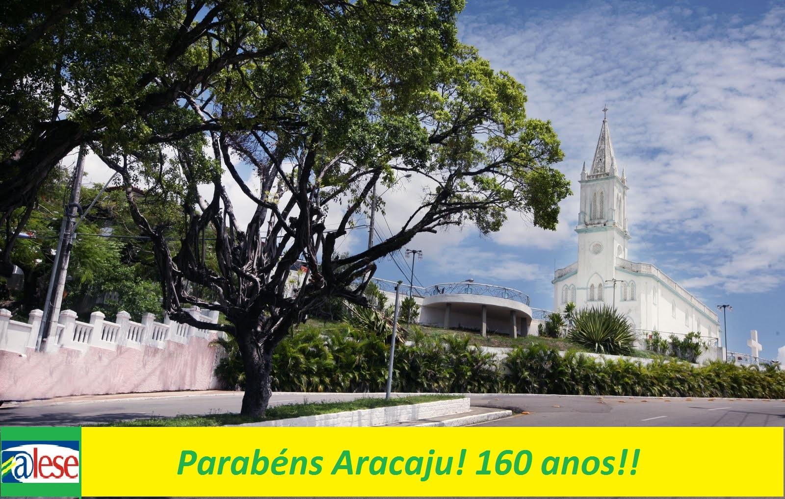 Assembleia Legislativa de Sergipe dar os parabéns a Aracaju