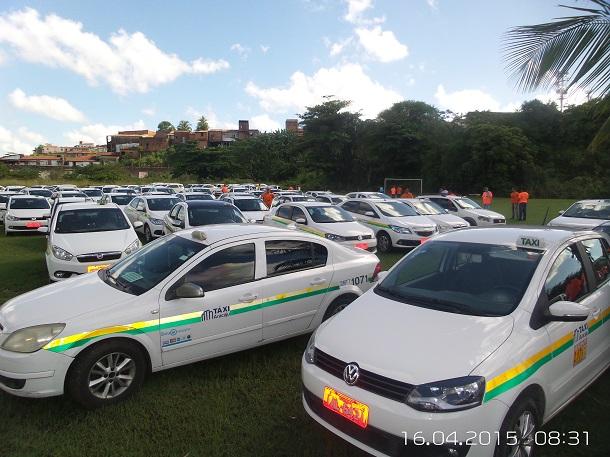 SMTT reajuste na tarifa de táxi