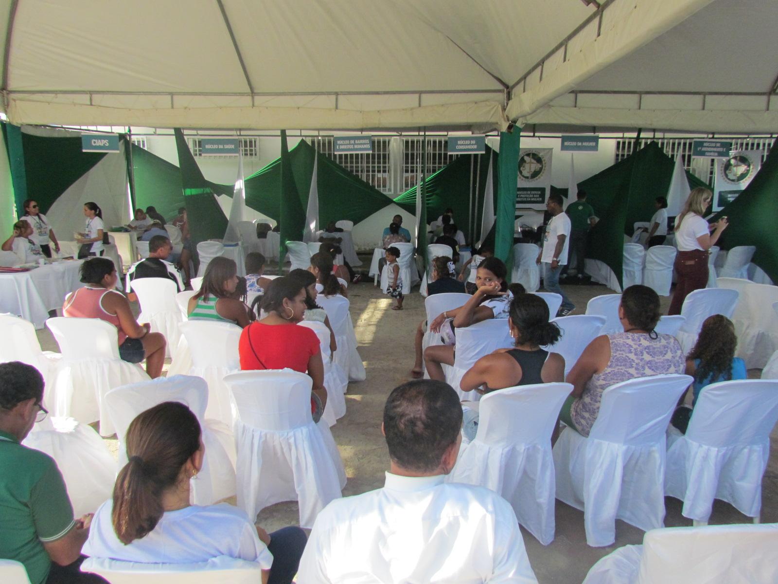 Mais de 300 pessoas mutirão a Defensoria Pública de Sergipe