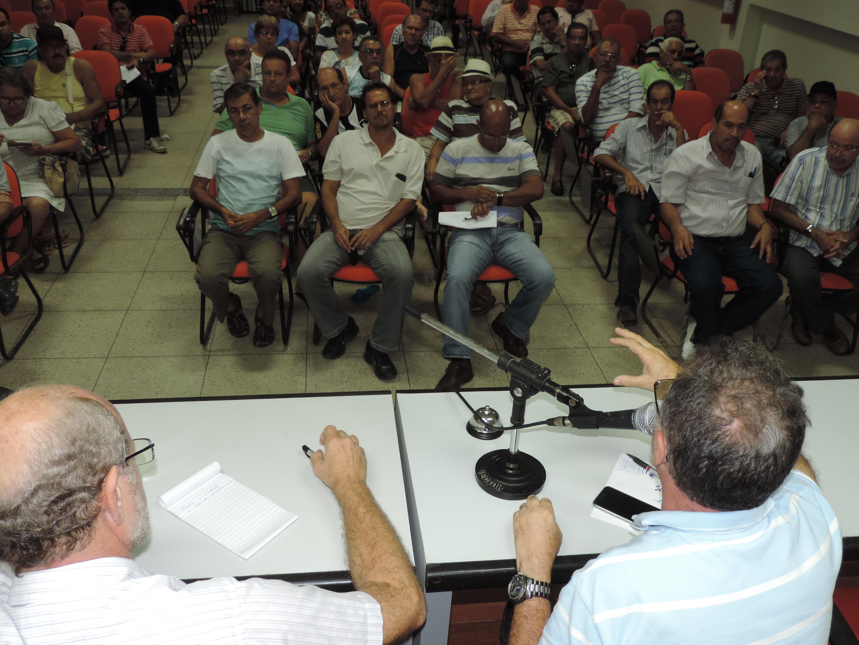 Auditores de Sergipe fazem atos públicos de protesto