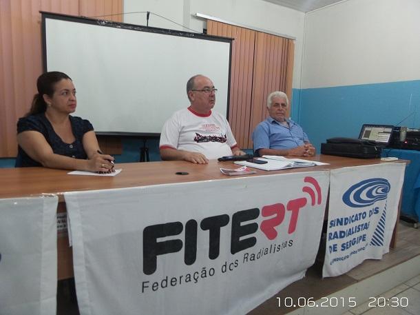 FITERT  e sindicatos dos radialistas combatem Curso Paripiranga II
