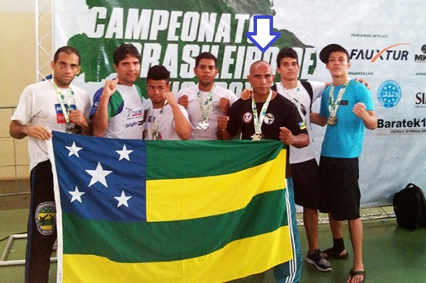 Sergipano se classifica para o Mundial de Kickboxing na Irlanda