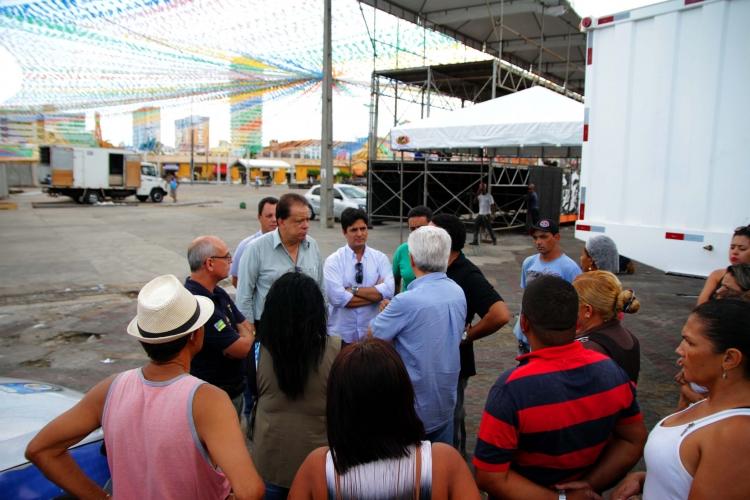 Comerciantes do Mercado serão prestigiados no Forró Caju